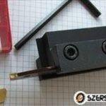 Esztergakés, 26×3 mm pengés leszúrókés, késtartó és 10db sp300 lapka fotó