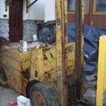 targonca balkancar DV 16-21 bontott alkatrészek targoncavilla villa oldalmozgató targonca torony fotó