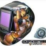 Automata hegesztőpajzs - WH 9801-N - Óriás látómezővel fotó