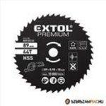 Extol Prémium HSS körfűrészlap, 89 mm, 24T a 8893022 mini körfűrészhez fotó