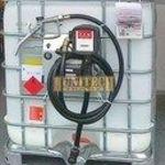 Használt IBC tartály, ADR-rel 1000 literes + S-50 230V. 1000M kit fotó