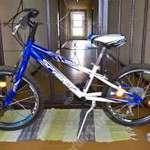 """Sprint Casper 20"""" MTB 7 sebességes kék-fehér gyermek kerékpár fotó"""