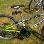 Egy Median Apex típusú és egy Schwinn márkájú 24-es fiú biciklik eladó fotó