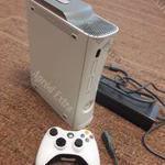 Xbox 360 Flash-elt rgh-s konzolgép tápkábellel és joystick-kal 120gb fotó