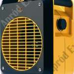 JCB JCB3UF Elektromos függőleges ventilátor fűtés. 3 kw fotó
