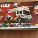 Dickie Toys márkájú játék tűzoltó autó fotó