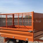 Rácsos oldalfal magasító készlet Komondor SPK pótkocsikhoz fotó