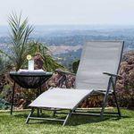 Comfort napozóágy, dönthető és állítható fotó