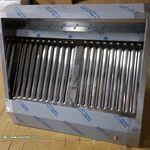 új inox ipari nagykonyhai 1000 X 700 X 450 mm-es elszivó elszivóernyő páraelszivó fotó