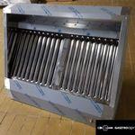 új inox ipari nagy konyhai 100x70x45cm-es elszivó elszivóernyő páraelszivó garanciával! fotó