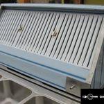 új inox ipari nagykonyhai 160x70x45cm-es elszivóernyő páraelszivó fotó